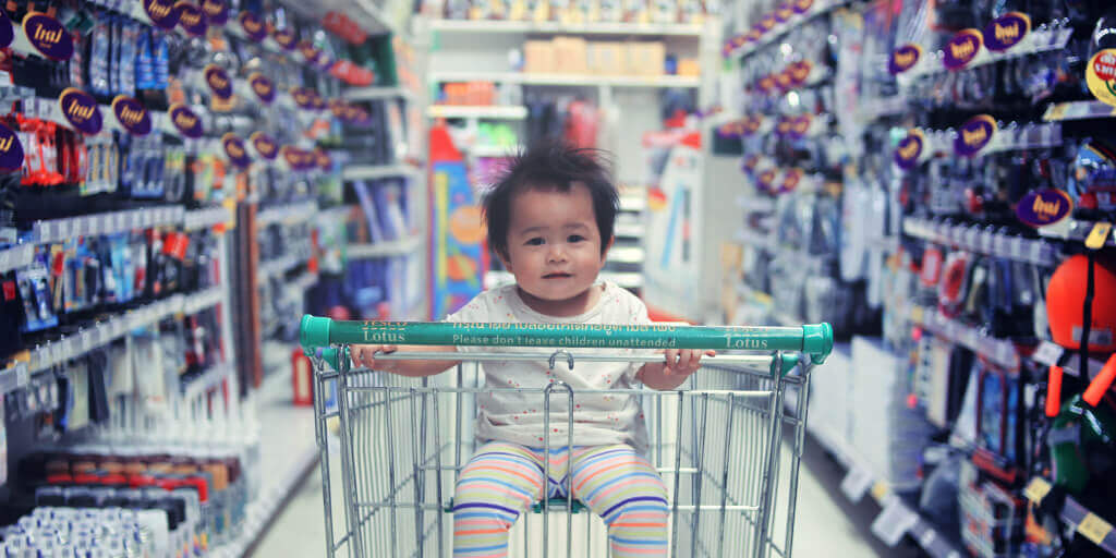 global-ecommerce-culture-shopping-cart-baby